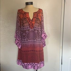 Diane von Furstenberg Tabalah Shift Tunic dress 6